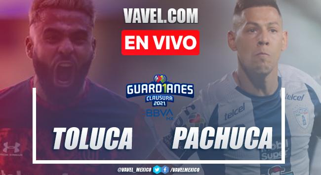 Resumen y goles: Toluca 0-2 Pachuca en Jornada 11 de Liga MX Guard1anes 2021