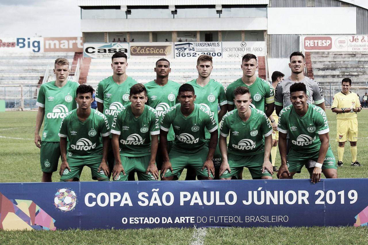 Chapecoense vence Penapolense, mas se despede da Copa São Paulo de Futebol Júnior