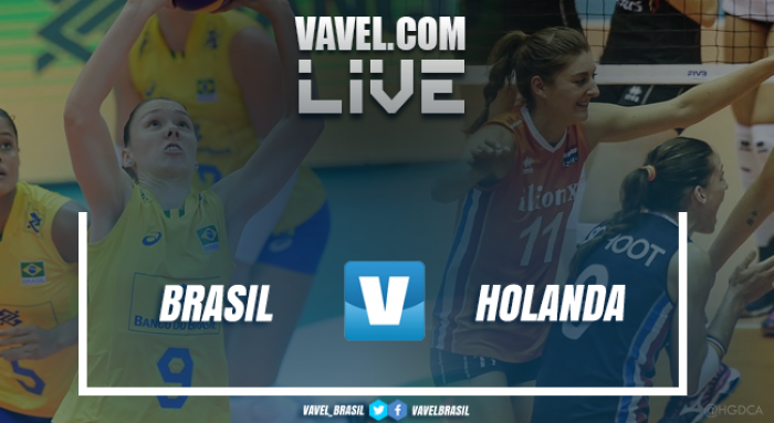 Resultado Brasil x Holanda pela fase final do Grand Prix de Vôlei (3-2)