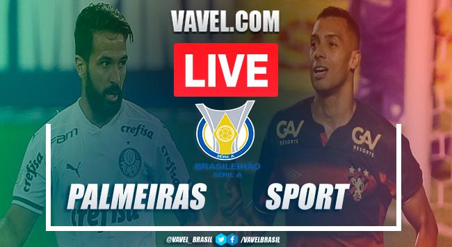 Gols e melhores momentos para Palmeiras 2x2 Sport pelo Campeonato Brasileiro 2020