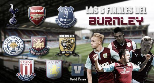 Las ocho finales del Burnley