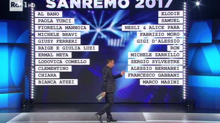 Sanremo 2017: tanti ritorni e grandi nomi per la prossima edizione