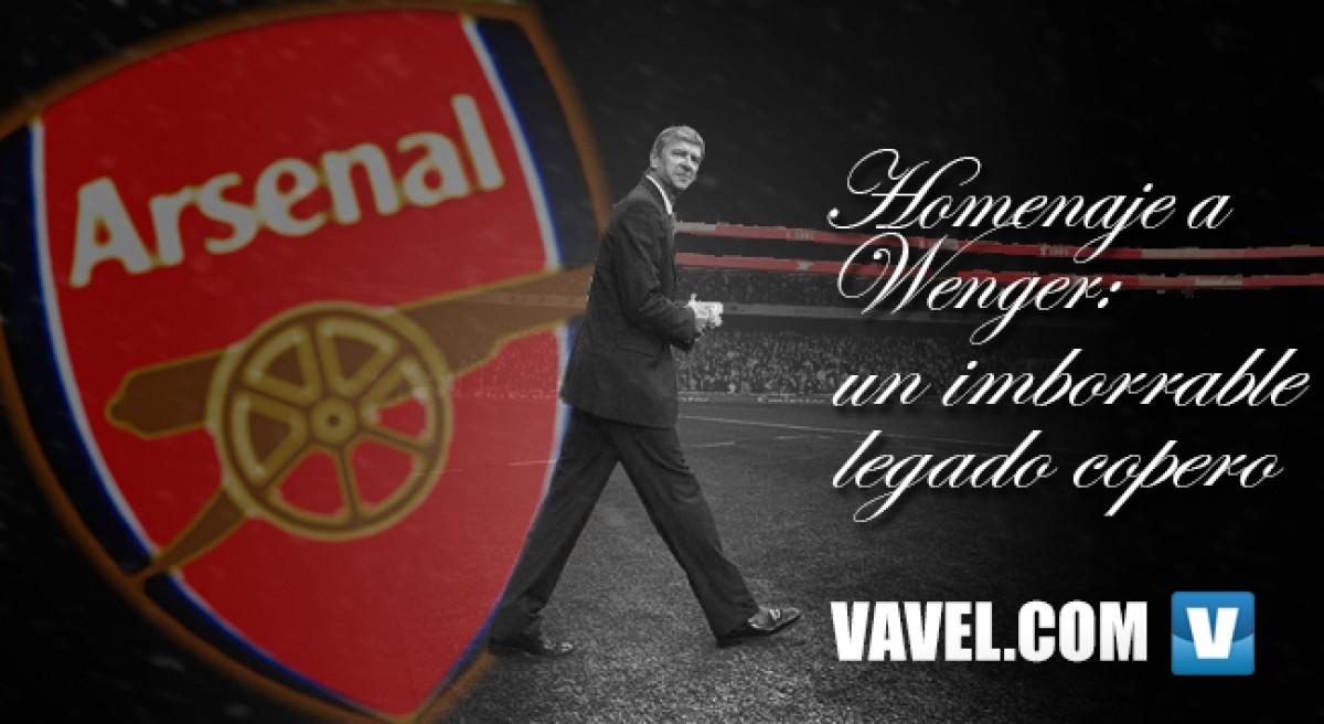 Homenaje a Wenger: un imborrable legado copero