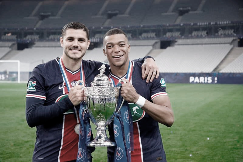 Mbappé desequilibra, PSG vence Monaco e conquista Copa da França pela 14ª vez