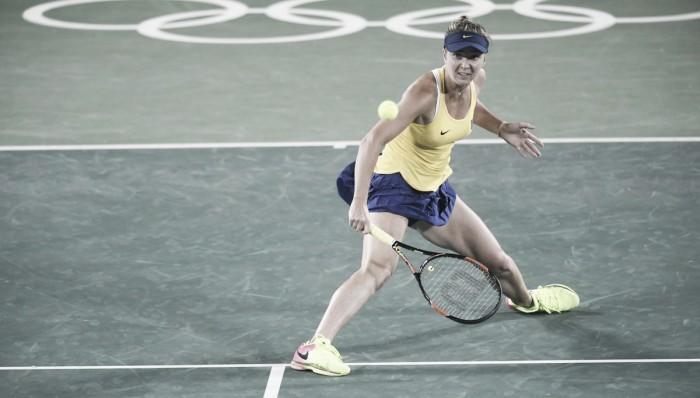 Elina Svitolina surpreende e elimina Serena Williams nas oitavas da Olimpíada Rio 2016