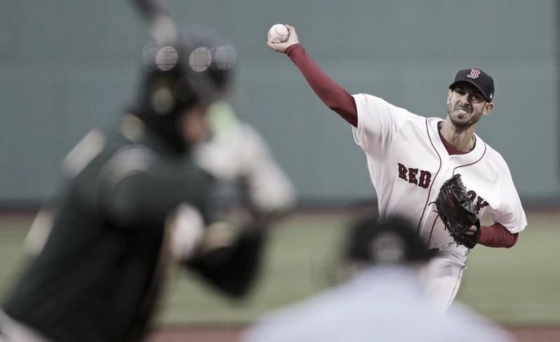 Red Sox gana en Oakland
