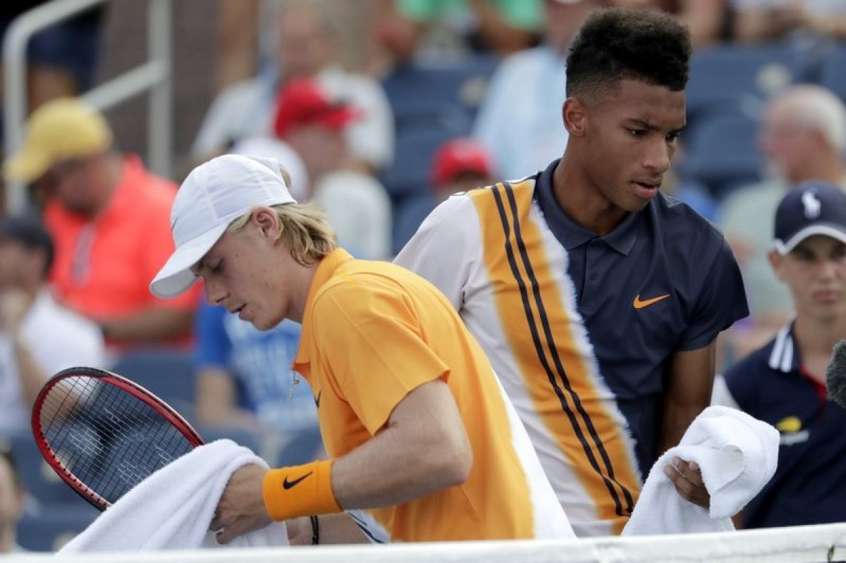 US Open: Félix Auger-Aliassime forced to retire from all-Canadian teenage tussle with Denis Shapovalov