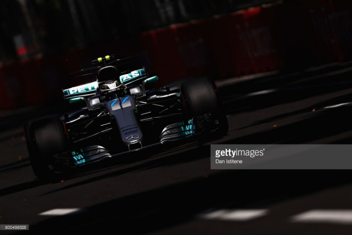 2017 Azerbaijan GP: Bottas returns Mercedes to the top in FP3