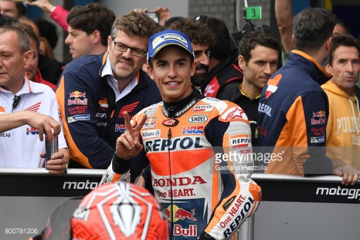 MotoGP: The battle for third in Assen