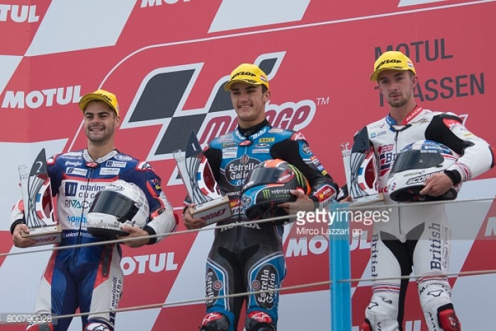 Moto3: Dramatic fight for podium in Assen