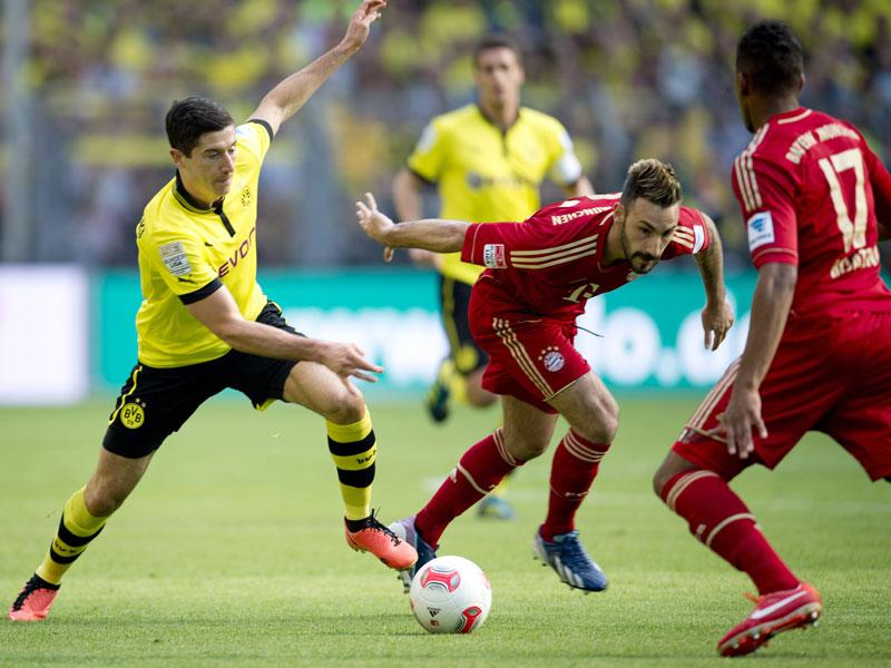 Jogando com times mistos, Dortmund e Bayern ficam no empate