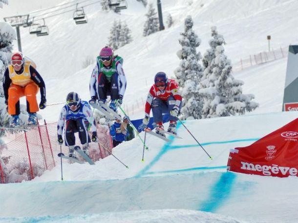 Ski cross : les épreuves de Megève victimes du trop peu de neige