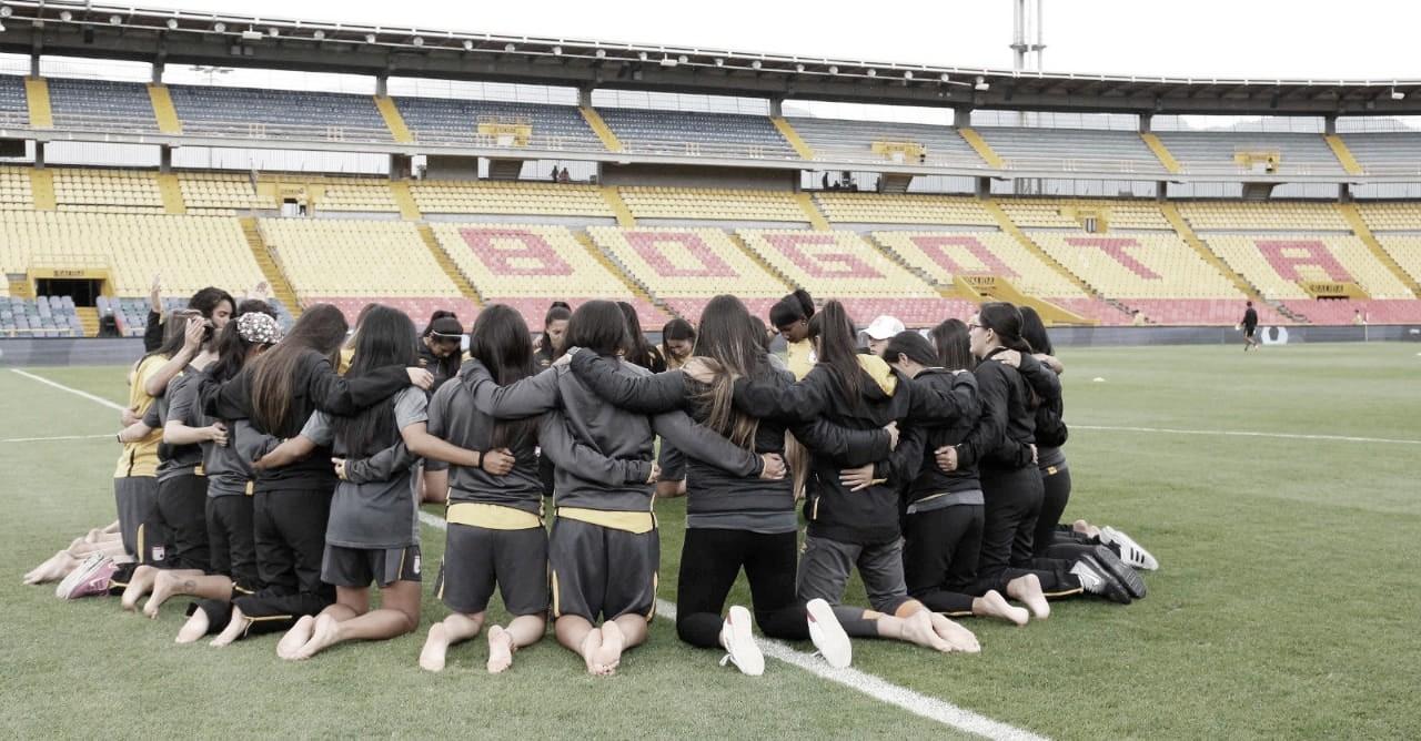 Por definiciones desde el punto penal, las 'leonas' quedan por fuera de la Liga Aguila femenina ante las 'embajadoras'