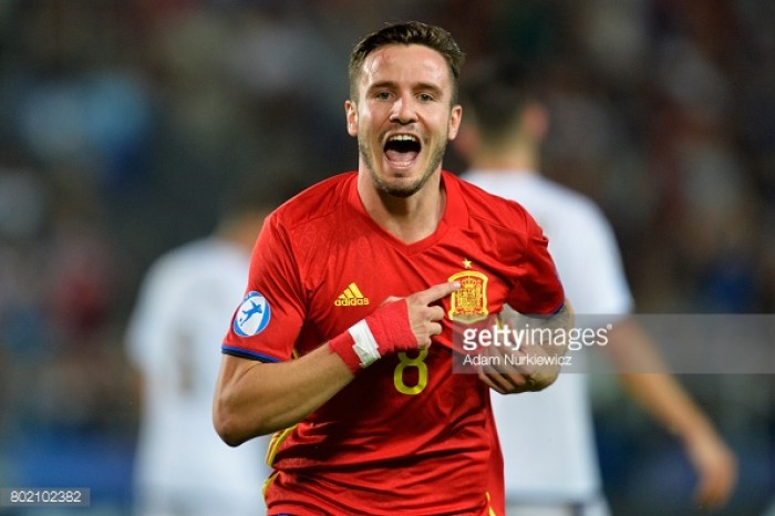 Spain U21 3-1 Italy U21: Saúl Ñíguez hat-trick sets up exciting final clash with Germany