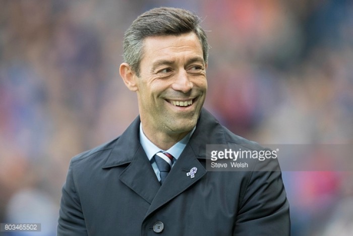 "Rangers manager Pedro Caixinha ""happy"" with his side's friendly win over Sheffield Wednesday"