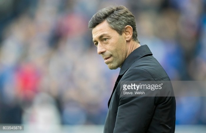 Rangers manager Pedro Caixinha refuses to comment on links to Hearts winger Jamie Walker