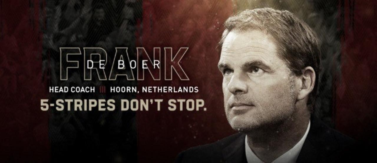 Frank de Boer entrenará a Atlanta United FC