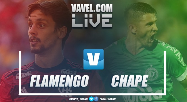 Resultado Flamengo x Chapecoense pelo Campeonato Brasileiro (2-1)