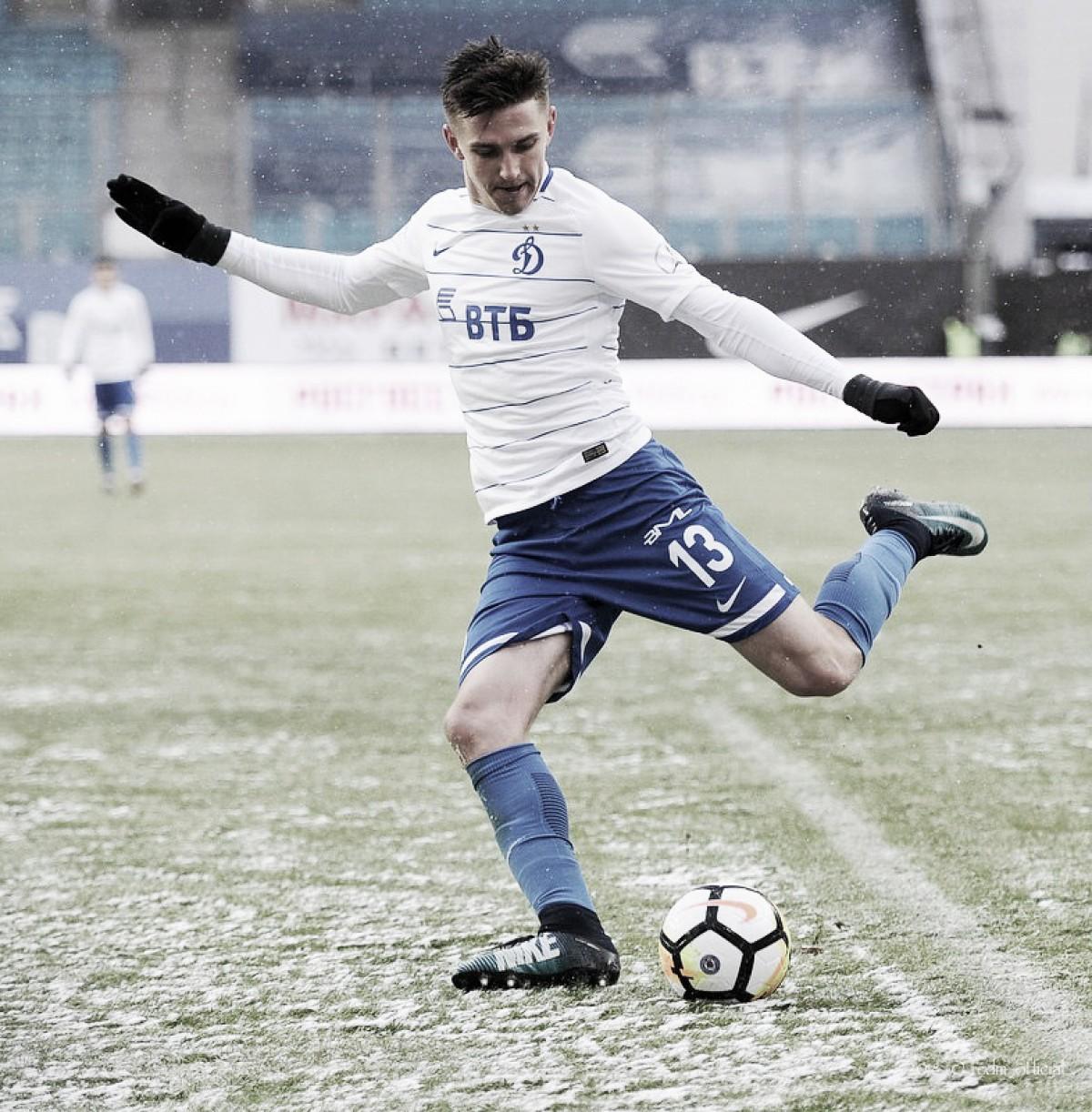 """Московское """"Динамо"""" одерживает волевую победу."""
