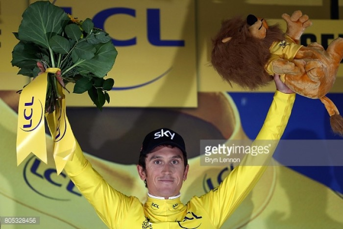 Tour de France 2017: Geraint Thomas takes the Yellow Jersey after stunning ride