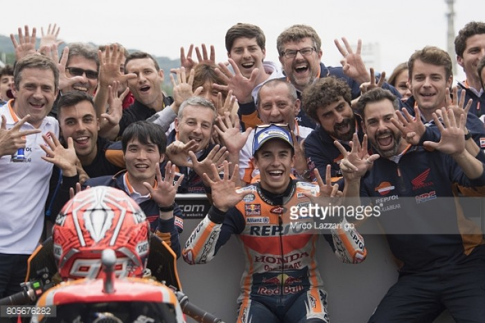 MotoGP: Marquez maintains win record in Sachsenring