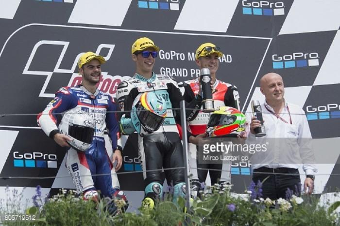 Moto3: Mir, Fenati and Ramirez secure German podium