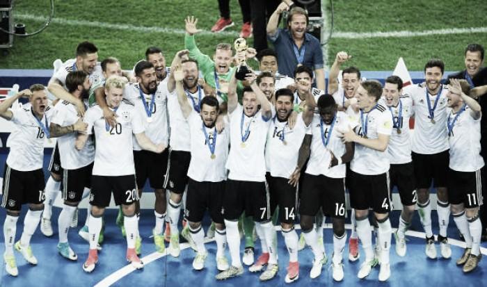 Mais uma vez cirúrgica Alemanha vence Chile e conquista Copa das Confederações 2017