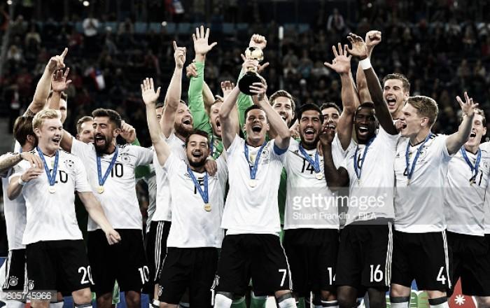 Alemanha vence Chile e conquista Taça das Confederações