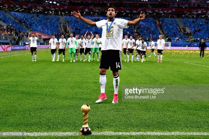 Liverpool midfielder Emre Can wins Confederations Cup with Germany