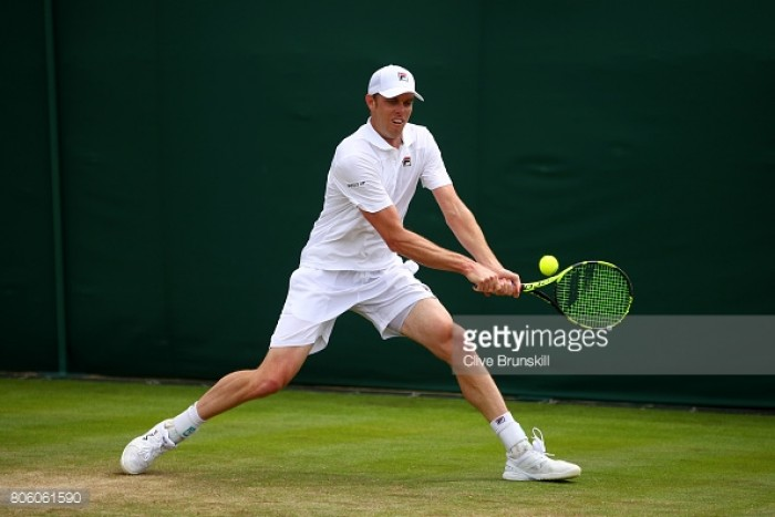 Wimbledon 2017: Sam Querrey begins campaign with triumph over Thomas Fabbiano