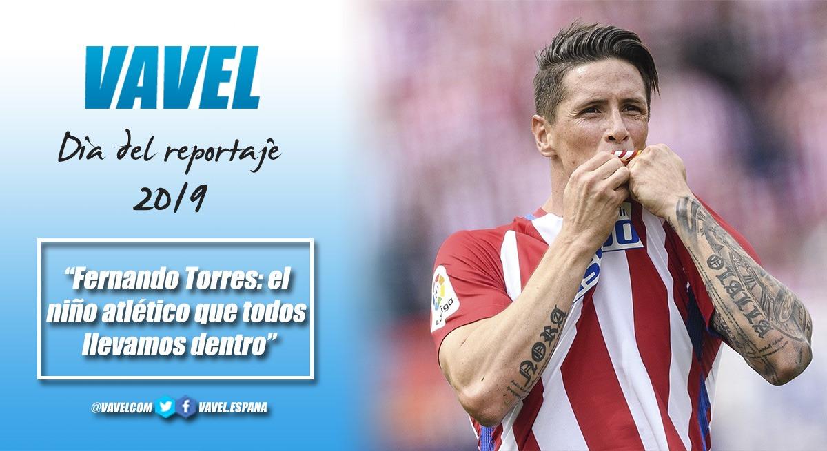 Fernando Torres: el niño atlético que todos llevamos dentro