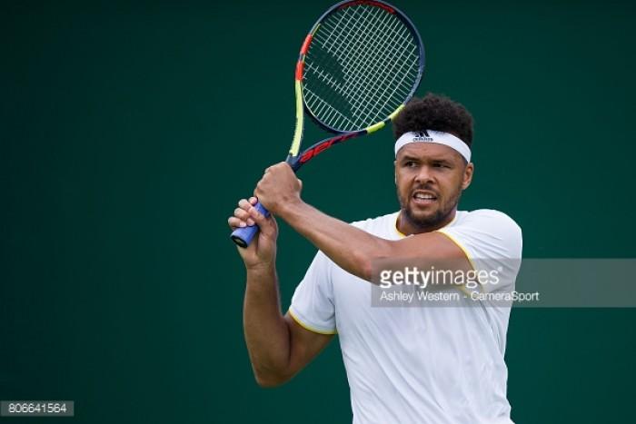 Wimbledon 2017: Jo-Wilfried Tsonga routs Cameron Norrie