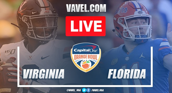 Virginia Cavaliers vs. Florida Gators: Live Stream Online TV Updates and How to Watch 2019 Capital One Orange Bowl (28-36)