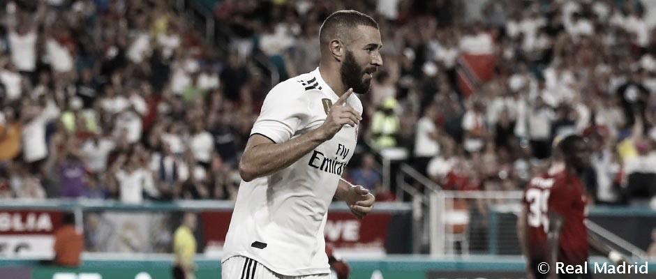 Benzema cumple diez años como jugador madridista