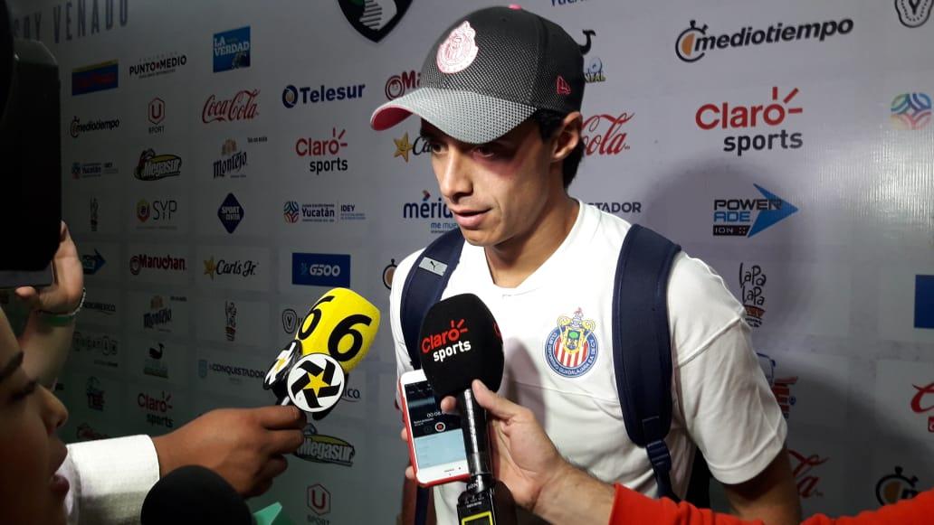 """José Antonio Rodríguez: """"Chivas va a ser un equipo muy peligroso"""""""