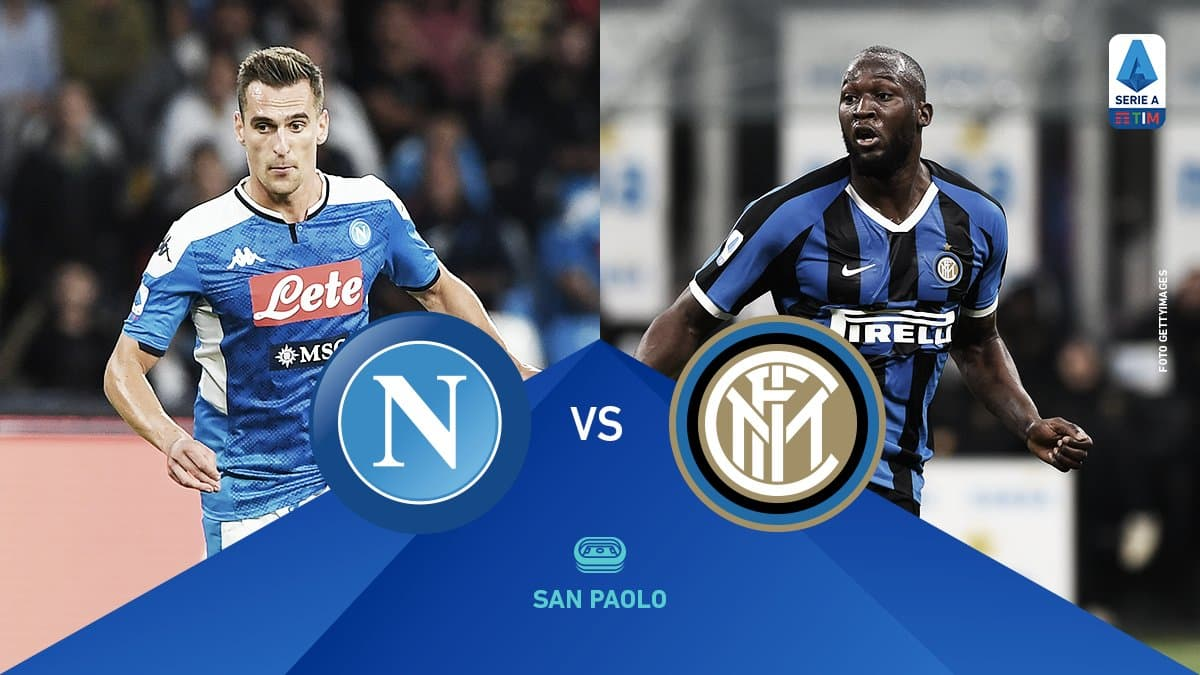 Resumen Nápoles 1-3 Inter en la Serie A 2020