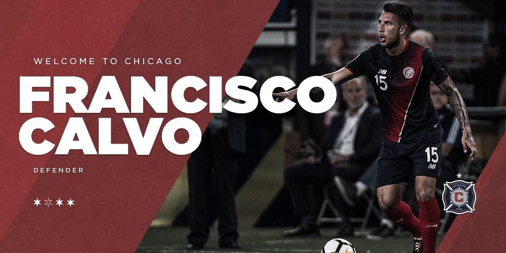 Francisco Calvo firma con Chicago Fire
