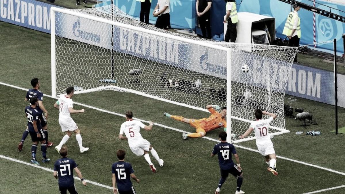 Polônia se despede da Copa com vitória magra sobre classificado Japão