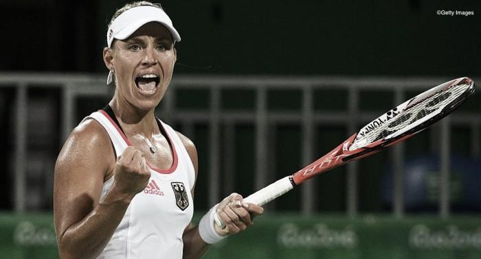Angelique Kerber atropela Johanna Konta e se garante nas semifinais da Olimpíada Rio 2016
