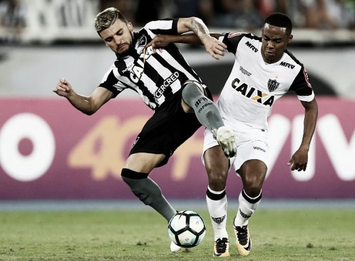 Em casa, Botafogo tenta reverter resultado negativo diante do Atlético-MG