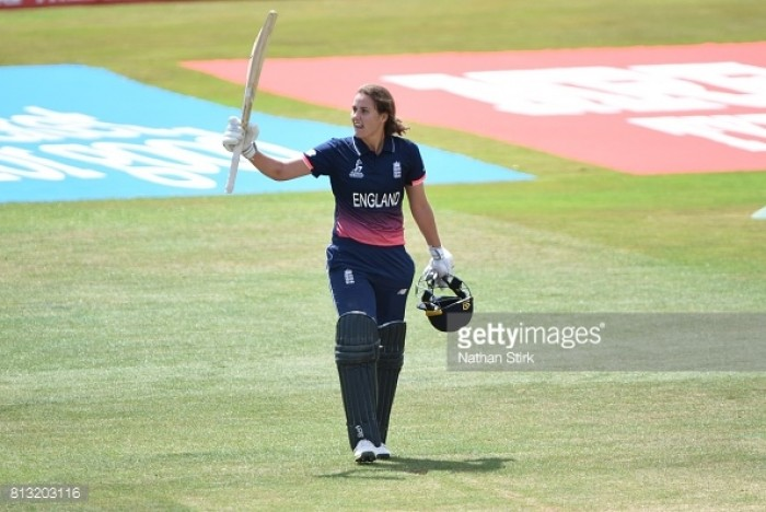 England qualify for Women's Cricket World Cup semi-final following Sciver century in victory over New Zealand