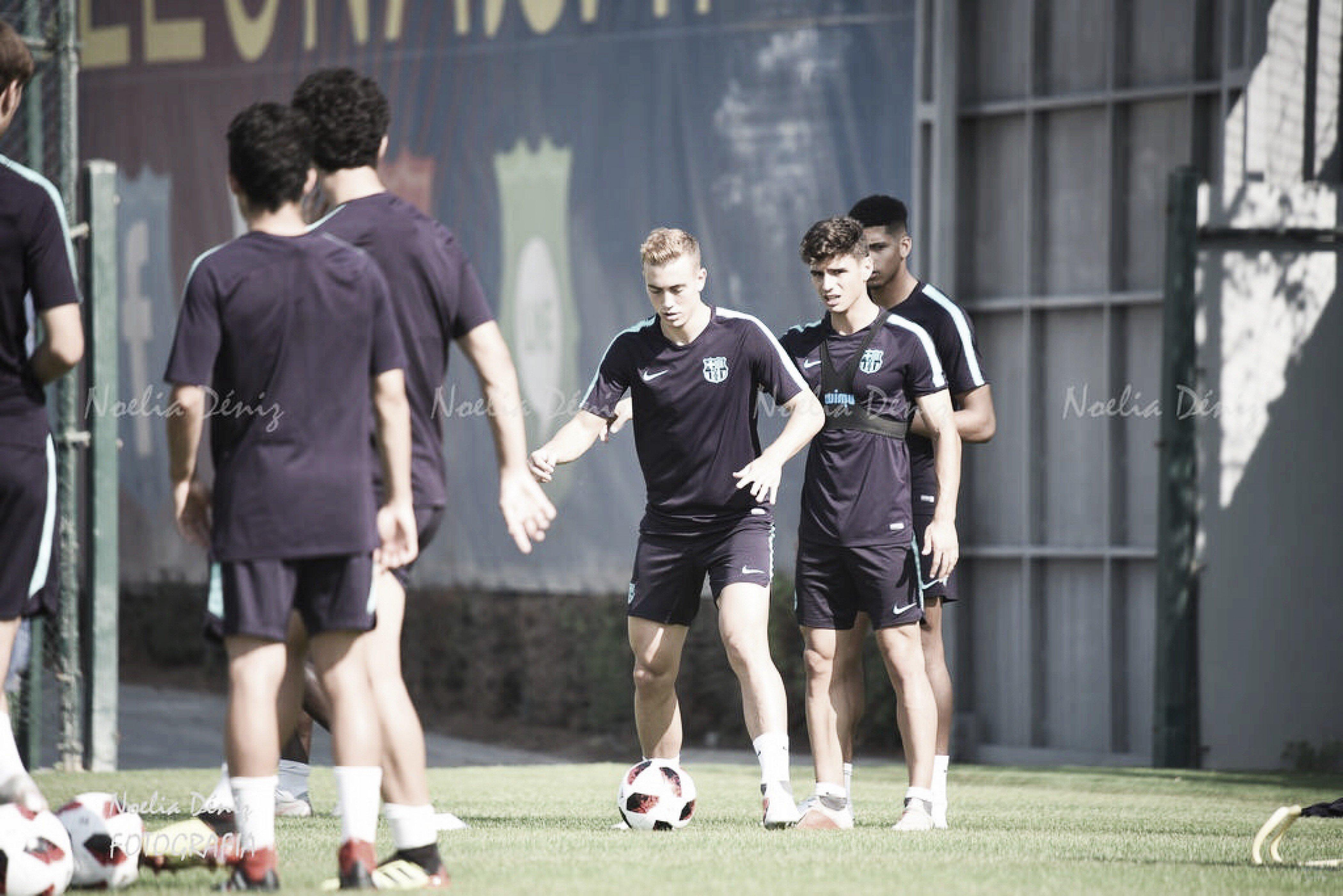 Fotos e imágenes del entrenamiento previo a disputar el partido contra elCentre d'Esports Sabadell Futbol Club