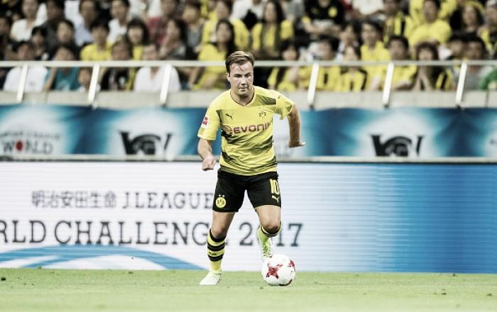 Mario Götze retorna aos gramados e Borussia Dortmund vence Urawa Reds de virada