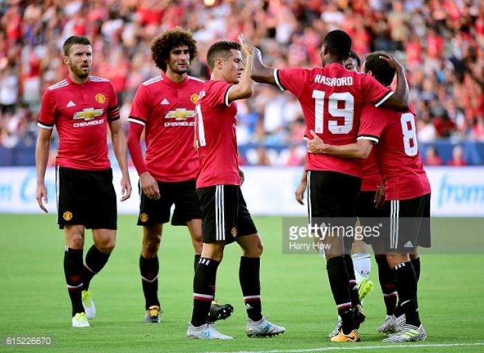 LA Galaxy 2-5 Manchester United: Red Devils kick off pre-season in style
