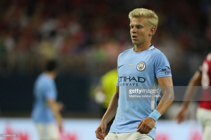 Oleksandr Zinchenko looking to make step up at Manchester City ahead of Wolves Carabao Cup clash