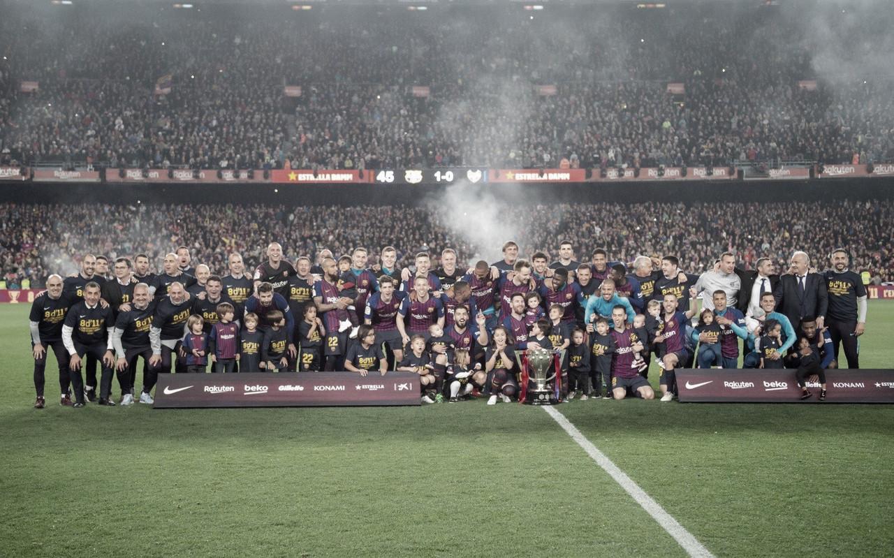 Barcelona bate Levante no Camp Nou e conquista La Liga pela vigésima sexta vez