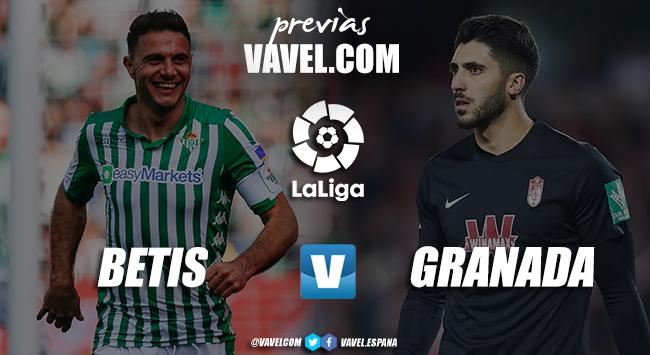 Previa Real Betis - Granada CF: ganar para perseguir diferentes objetivos