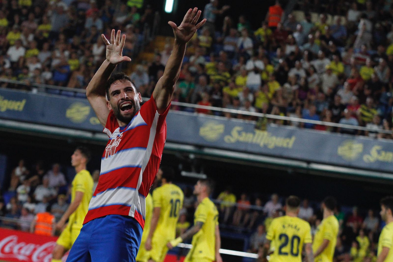 Lluvia de goles repartida para el regreso del Granada CF a Primera