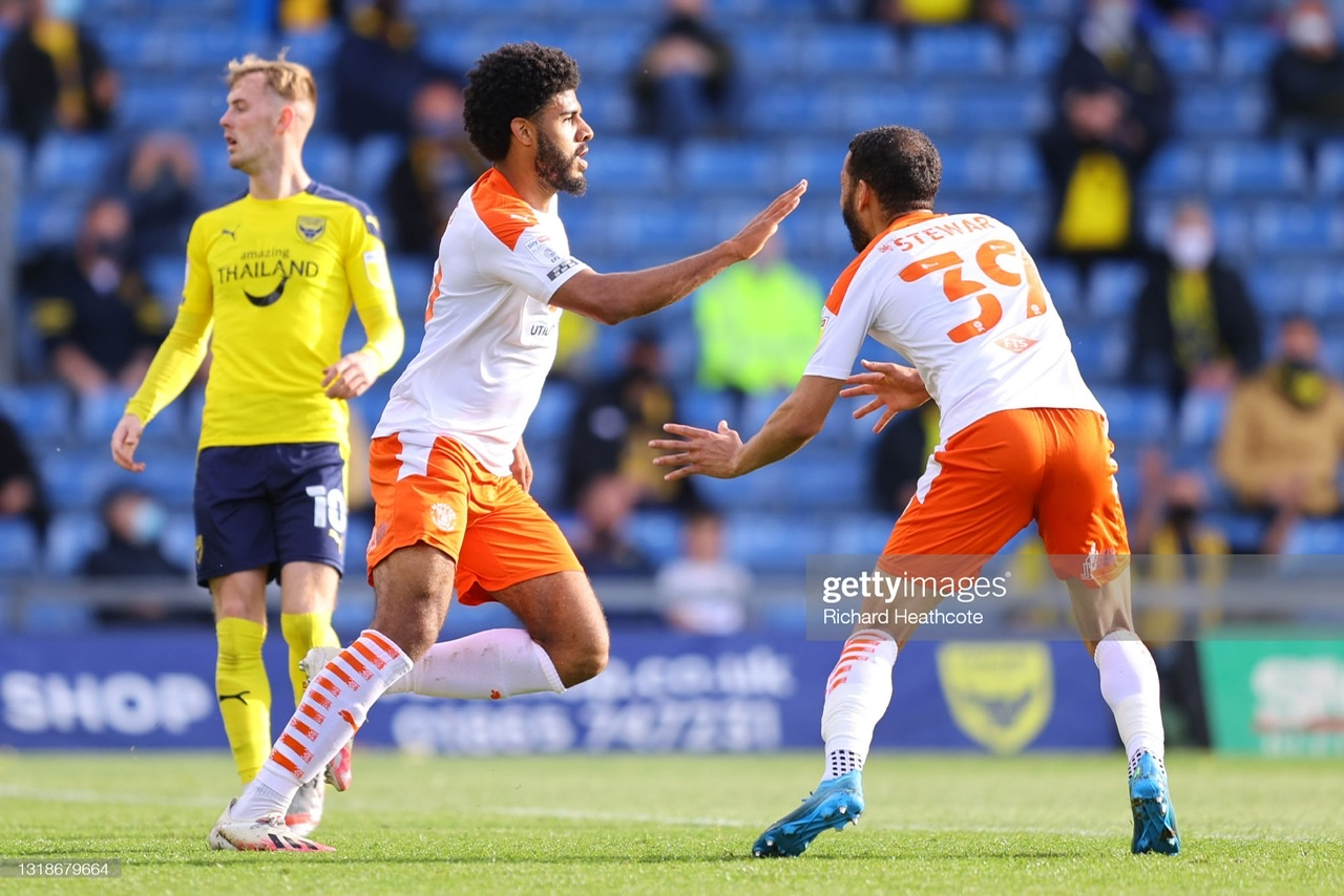 Oxford United 0-3 Blackpool: The Seasiders run riot with one foot in the play-off final