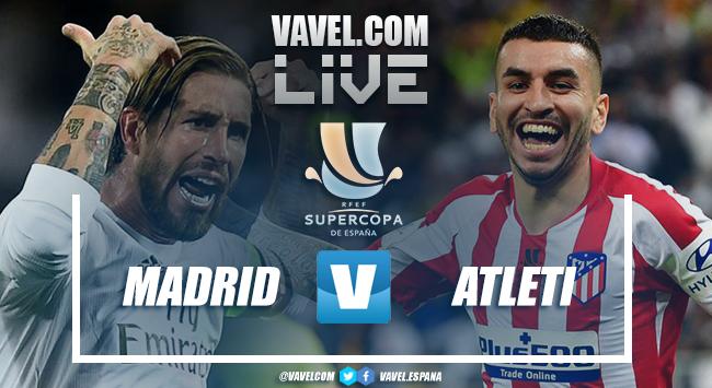 Resumen Real Madrid 0-0 Atlético de Madrid (4-1) en la Supercopa de España 2020